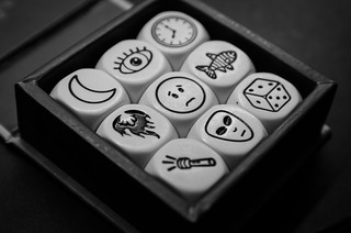 Tell me a story....story cubes