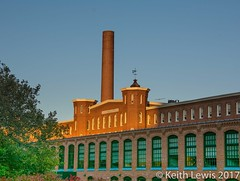 Dark Satantic Mills  in Lowell Mass. (keithhull) Tags: cottonmill chimney factory lowell massachusetts unitedstates