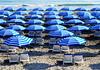 Mellieha Bay, Malta - Sept 2017 (Keith.William.Rapley) Tags: keithwilliamrapley rapley 2017 september2017 sept2017 mellieha melliehabeach beach sea sand malta umbrellas