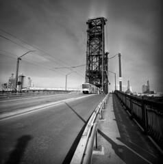 Bromide Drag #2 (spiritusmentis) Tags: lomo lca 120 kodak tmax 400 rodinal stand development portland oregon bridges