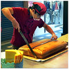 Cake engineer - 5060 (willfire) Tags: willfire singapore people work asian daily life day relax street unaware seeing doing balance leisure awake lifestyle normalcy myob minding their own business