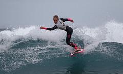 Super 8 Finals (Paul J's) Tags: surfing backbeach newplymouth taranaki tasmansea super8finals newplymouthsurfridersclub girl