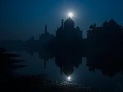 Taj Mahal : The True Story (Anil Nagrani) Tags: taj mahal tajmahal agra tajatnight tajmoonlight tajfullmoon tajmahalagra india anilnagrani