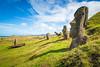 Rano Raraku Moaï Quarry - UNESCO World Heritage - Easter Island / Rapa Nui - Chile (Mickael LOICHON) Tags: worldheritage unesco carrière quarry volcano volcan ranoraraku moaï îledepâques easterisland rapanui chile chili