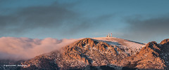 First snow & last lights (Ignacio Ferre) Tags: landscape paisaje sierradeguadarrama madrid spain españa panorama nikon sunset atardecer montaña mountain cielo sky ngc