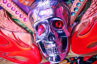 Skull at Robot Restaurant