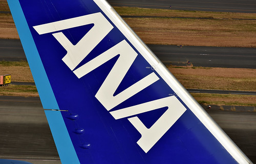 ANA Boeing 777 at HND