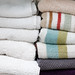 Folded Towel Close-Up