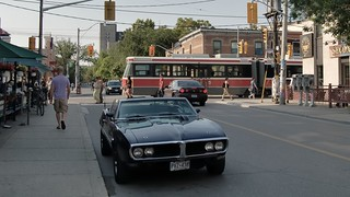 Old one in the shade, Queen West at Augusta, Toronto