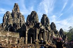 The Bayon - Main Entry 1 (Nicolas Bousquet) Tags: angkor tom bayon cambodia asia temple ruins cham kmer siemreap pentax pentaxk3 k3 limited da15