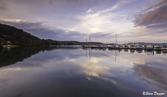 0S1A9722 (Steve Daggar) Tags: koolewong woywoy gosford nswcentralcoast sunset landscape waterscape reflection reflections lake marina serene serenity tranquil