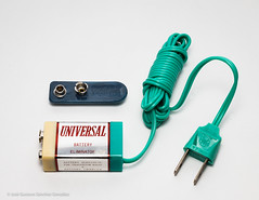 Universal PTR-62B with box and accesories, Circa 1961, Made in Japan by Tokyo Transistor Industry Co., LTD. (José Gustavo Sánchez González) Tags: gustavo josegustavo transistorradio universal ptr62b box accessoriesmiscellaneous accessories japan