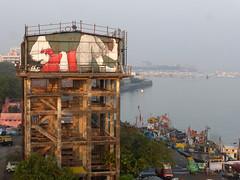 BOMBAY SASSOON DOCK 11.2017 (Ella & Pitr) Tags: ellapitr ella pitr artwork mural inde india mumbai bombay painting sleeping giant
