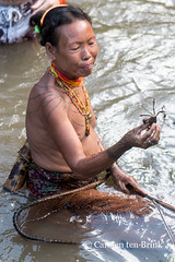 Mentawai women look for fish or eels in the mud of the riverbank  was that all? (10b travelling / Carsten ten Brink) Tags: 10btravelling 2017 asia asie asien carstentenbrink iptcbasic indonesia indonesian indonesie indonesien madabay malabay mentawai mentawaian mentaweier muarasiberut siberut sumatera sumatra sumatran ugai ugay westsumatera westsumatra archipelago ethnic ethnicminority fishing group hunting island islands river riverbank tenbrink tribe women