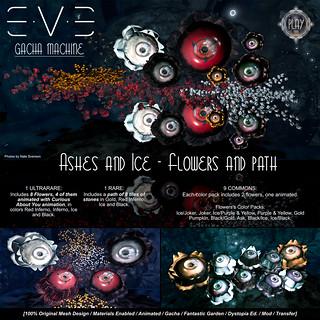 E.V.E Ashes and Ice Gacha Vendor