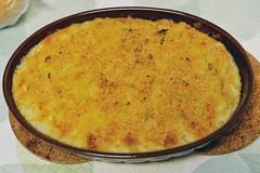 homemade bacalhau com natas (Gail at Large | Image Legacy) Tags: 2017 casaaguiar maia portugal bacalhau bacalhaucomnatas food gailatlargecom