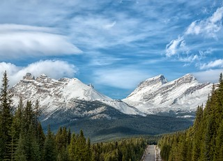 Canadian Rockies Ahead