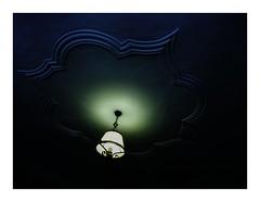 roofshade (seba0815) Tags: ricohgrdiv ricoh bleachbypass green blue roof building house lamp lampshade stucco color dark mood seba0815 grd grdiv light