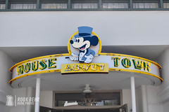 Mouse About Town at Hollywood Studios (rook.behr) Tags: nostalgic outdoors signage building disneyworld store hollywoodstudios outside