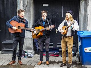Ireland - Galway - Musicians