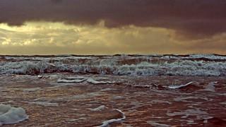 Lønstrup before the storm