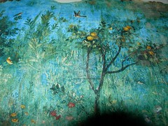 Gli affreschi della villa di Livia a Palzzo Massimo _15