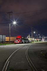 big red (eb78) Tags: ca california oakland npy nightphotography longexposure railroad traintracks ghostrails eastbay