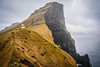 Kallur Lighthouse, Kalsoy, Faroe Islands. (Marie-Laure Even) Tags: 2016 archipel archipelago cliff coast côte danemark december décembre europe faero falaise faro faroeislands fjall färö færø færøerne féroien féroienne føroyar hike hiver ile island kallurlighthouse kalsoy kingdomofdenmark landscape lighthouse marielaureeven mer montagne mountain nature nikond7100 nord nordic nordique north ocean paysage phare royaumedudanemark scandinave scandinavia scandinavian scandinavie sea travel trøllanes viti voyage wild wilderness winter îlesféroé гора природа маяк
