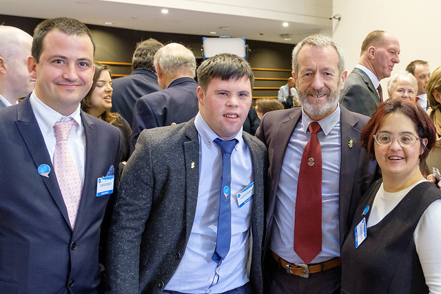 With the Irish Disability Federation in Brussels