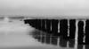 Crashing (robbophotography) Tags: bridlington blackandwhite monochrome longexposure clouds noiretblanc blancoynegro