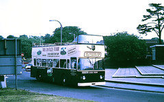 Slide 109-73 (Steve Guess) Tags: england gb uk bus warwickshire guide friday nottingham atlantean eto166l open topper topless top sightseeing