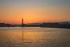 Darkness falls on the Lighthouse (www.yabberdab.com) Tags: chania crete greece sunset lighthouse