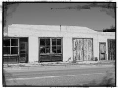Shoshoni abandonment (jimsawthat) Tags: enhanced blackandwhite small town shoshoniu wyoming decay abandoned