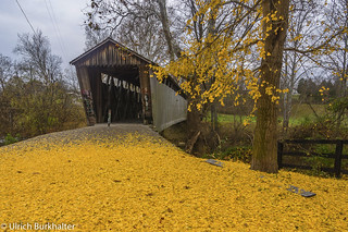 Another view of Switzer Covered bridge