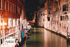 Venice (inni.kiri) Tags: venetie venice venezia italy boats canals night outdoor building