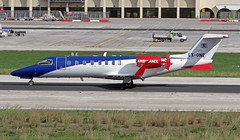 LX-ONE LMML 15-11-2015 (Burmarrad (Mark) Camenzuli) Tags: airline luxembourg air rescue lar aircraft bombardier learjet 45 registration lxone cn 45342 lmml 15112015