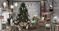 Tannenbaum 's coming in like a wrecking ball! (roxi firanelli) Tags: thetannenbaumholidaymarket tannenbaum prismevents omen acorn mudhoney culprit 7madravens anc botanical dahlia canteven 8f8 holidays decorating christmas secondlife winter jian badunicorn