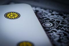 Scopa (ein Blickwinkel) Tags: scopa italian italienisch neapoletanischekarten setedenari siebenmünzen macromondays memberschoicegamesorgamepieces kartenspiel