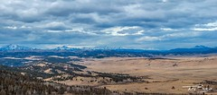 Open Space (Tony Baca Photography) Tags: colorado coloradophotographer coloradophotography coloradolandscape mountains rockymountains photography panorama landscape trees clouds fremontcountycolorado canon snow weather