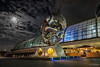 Hauptbahnhof Berlin - Rolling Horse (towoberlin) Tags: berlin deutschland de hauptbahnhof hdr nacht night bahnhof centralstation