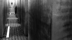 Berlin (ale neri) Tags: street bw aleneri memorialholocaust people berlin deutschland germany streetphotography blackandwhite alessandroneri
