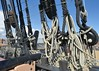 Rigging and sheets (gillybooze) Tags: ©allrightsreserved ropes sheets rigging ship cannon hmsvictory navalhistory sky block tackle