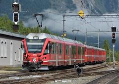 Pontresina 09.08.2017 (The STB) Tags: rhb rhätischebahn rhaetianrailways berninabahn berninalinie schmalspurbahn schweizerbahnen schweizereisenbahnen dieschweiz swissrailways swisstrains narrowgauge