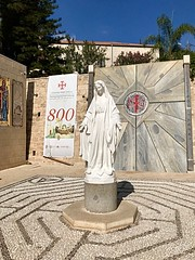 7 - Angyali üdvözlet temploma - Szűz Mária szobor / Bazilika Zvestovania - socha Panny Márie