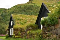 Icelandic Turf Houses 3 (Amaury Laporte) Tags: europe iceland skogar folkmuseum traditional history