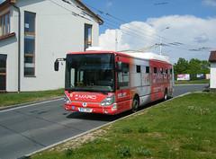 Pardubice bus No. 211 at Dubina.Sever terminus. (johnzebedee) Tags: trolleybus transport publictransport pardubice czechrepublic johnzebedee skoda