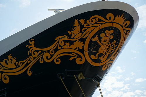 "The Bow of the Disney Wonder • <a style=""font-size:0.8em;"" href=""http://www.flickr.com/photos/28558260@N04/27206257729/"" target=""_blank"">View on Flickr</a>"