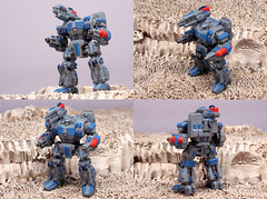 UEF Goliath Armored Assault Bot Mini (OrangeKNight) Tags: gaming tabletop wargaming scale micro microscale mini miniature 3d modeling printing shapeways mech supreme commander supcom uef goliath armored assault bot t4 experimental