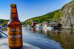 St. John's Lake Quidi Vidi (jörg opfermann) Tags: bier beer lake mood stimmung quidi vidi stjohns canada canadian neufundland newfoundland labrador 24240 fe 7m2 ilce sony