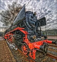 Steam (glessew) Tags: dampf stoom steam train trein locomotive rotterdam centraal station bahnhof gare spoorweg railway